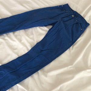 Blue Men's Levi's Jeans